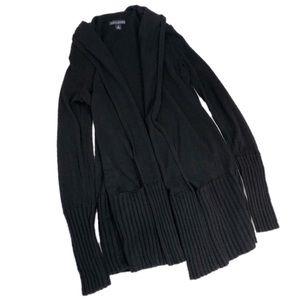 Banana Republic Black Cashmere Blend Open Cardigan